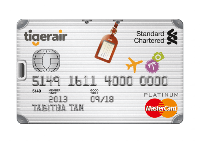 Standard chartered tiger air platinum credit card review for the standard chartered tiger air platinum credit card review for the budget frequent flier reheart Gallery