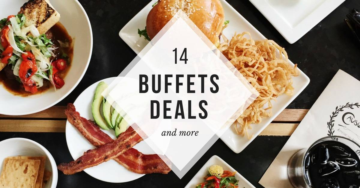 Excellent 14 Satisfying Buffet Promotions In 2019 You Dont Want To Miss Interior Design Ideas Tzicisoteloinfo