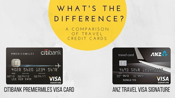 Citibank PremierMiles Visa Card vs ANZ Travel Visa Signature: What's The Difference?