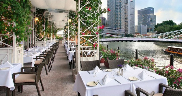 Town Restaurant, The Fullerton Hotel Singapore