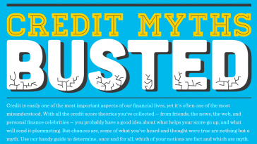 10 credit myths busted