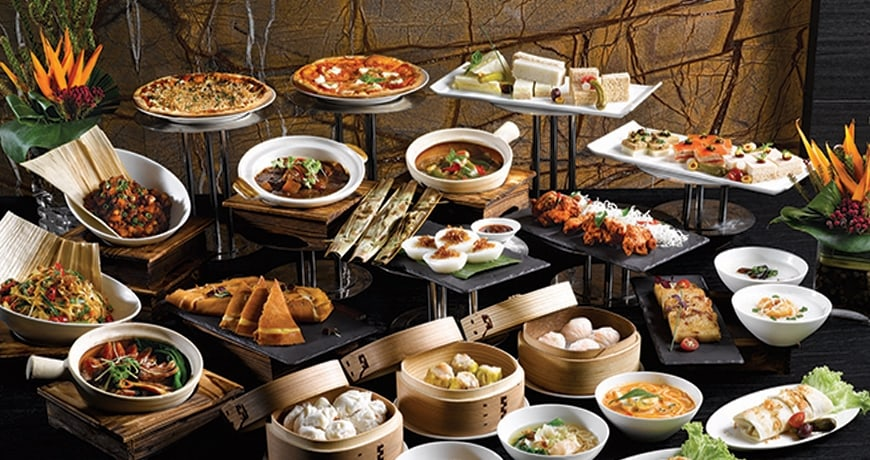 Carlton hotel singapore june 2017 cardable for Asian cuisine buffet