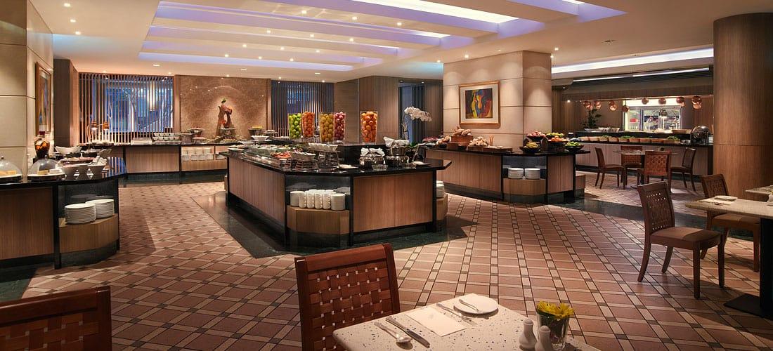 cafe mosaic carlton hotel