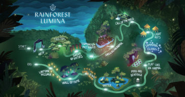 Rainforest Lumina, Singapore Zoo