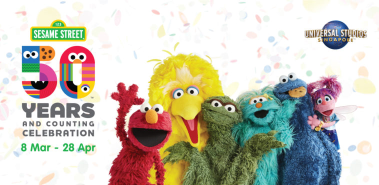 USS 50 years Sesame Street Birthday Blowout