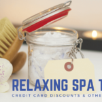 Spa Massage Facial Credit Card Promotions