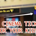Kids watch for FREE at Golden Village Cinemas