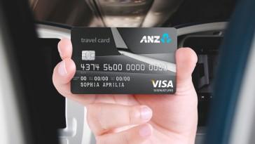 ANZ Travel Visa Signature Credit Card
