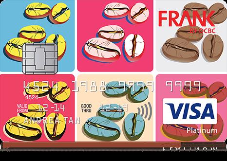 OCBC FRANK Card_Coffee lovers
