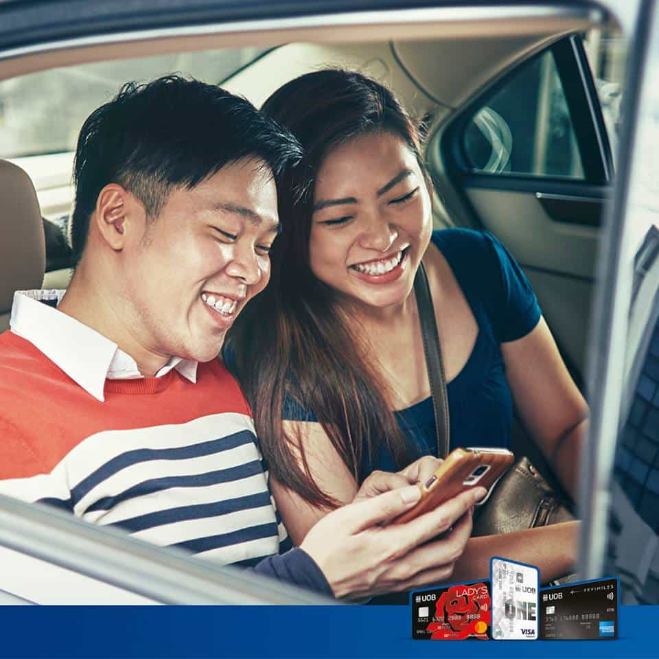 Get up to 60% OFF Grab Rides via Klook with your UOB Card!