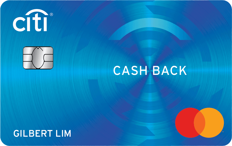 citi cash back card singapore