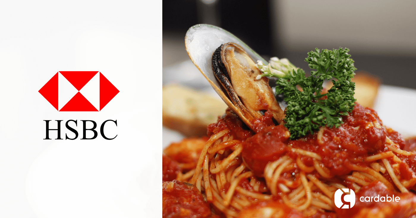 HSBC Dining And Buffet Promos In Singapore 2018