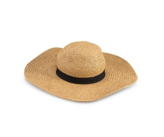 Lady's beach straw hat