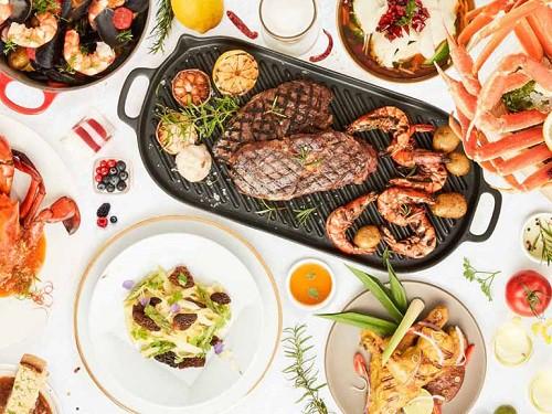 Citi Dining, RISE Restaurant, Marina Bay Sands