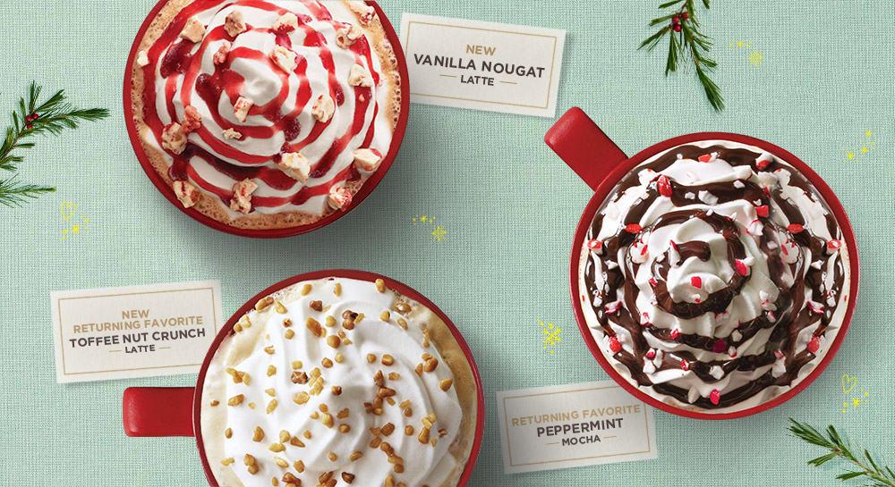 Starbucks Christmas Toffeenut Latte