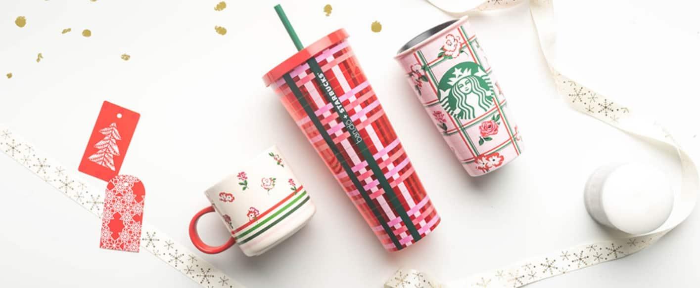 Starbucks x Bando Christmas Collection