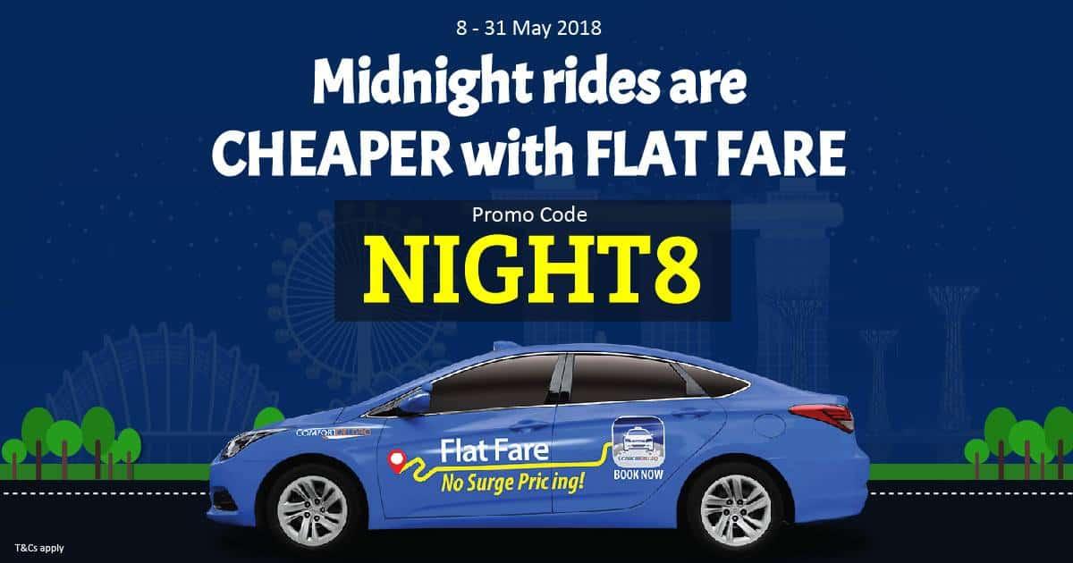 ComfortDelGro Taxi May Promo Code