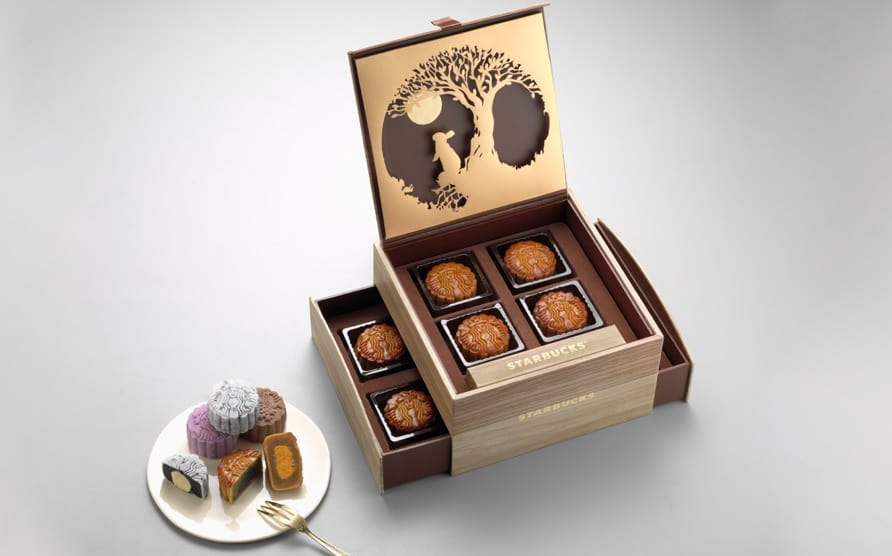 Starbucks Singapore Mooncakes 2017