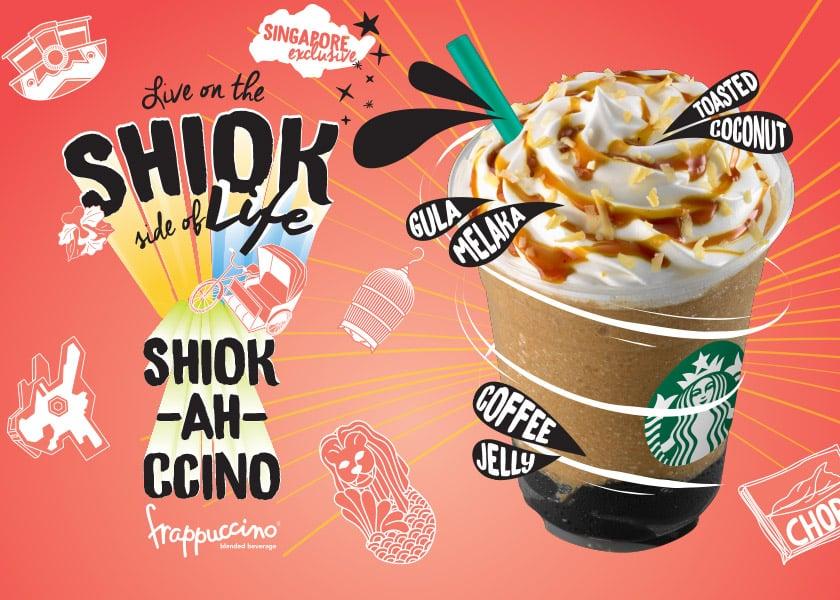 Starbucks Shiok-ah-ccino