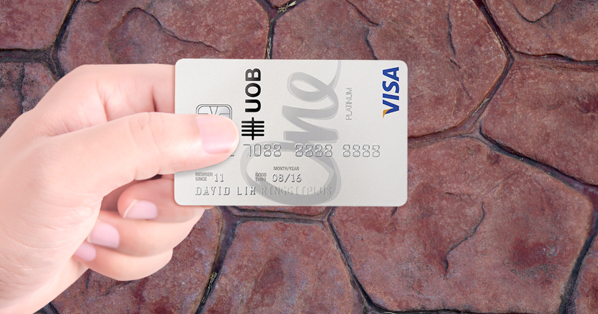 UOB One Credit Card Singapore