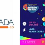 Lazada Singapore Credit Card Promos 2018, Birthday Festival