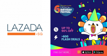 Lazada Singapore Credit Card Promos 2018, Birthday Festival