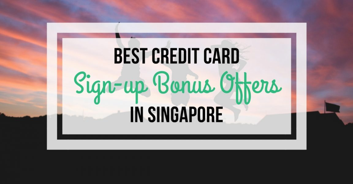 Image of Singapore credit card signup promotion