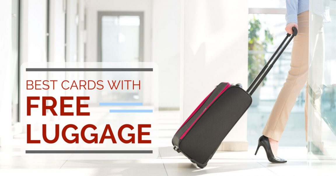 Best Credit Cards with FREE Luggage in Singapore 2019