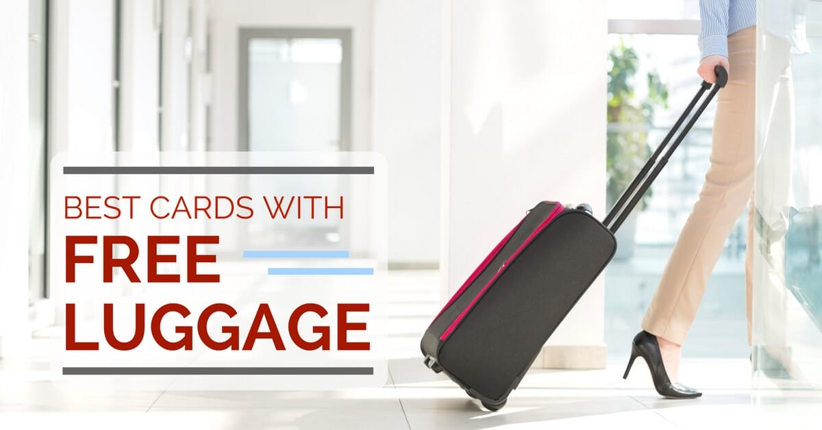6e15b9978357 Best Credit Cards with FREE Luggage in Singapore 2019