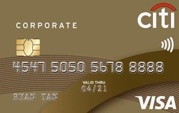 Citi Corporate Card Visa