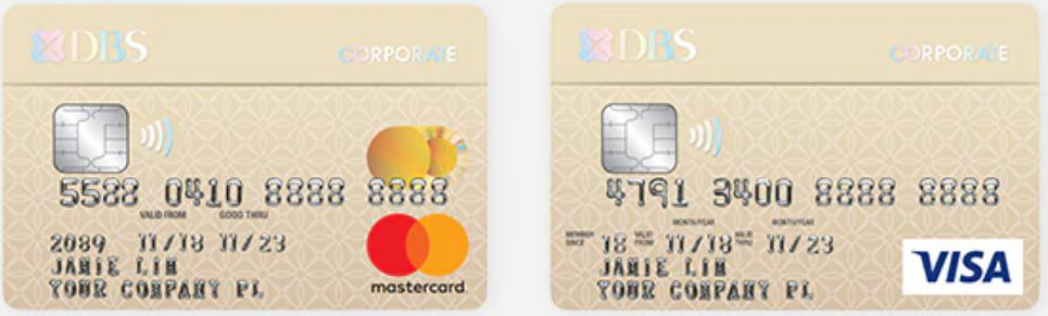 DBS Corporate Charge Card - Best Business Credit Card