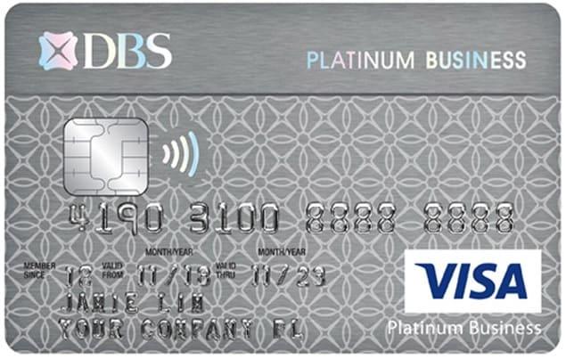 DBS Visa Platinum Business Card