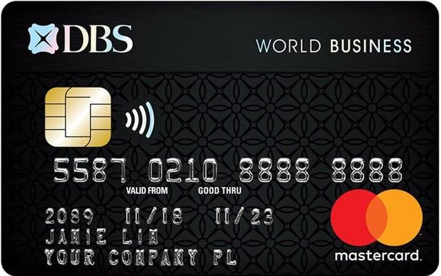 DBS World Business Card