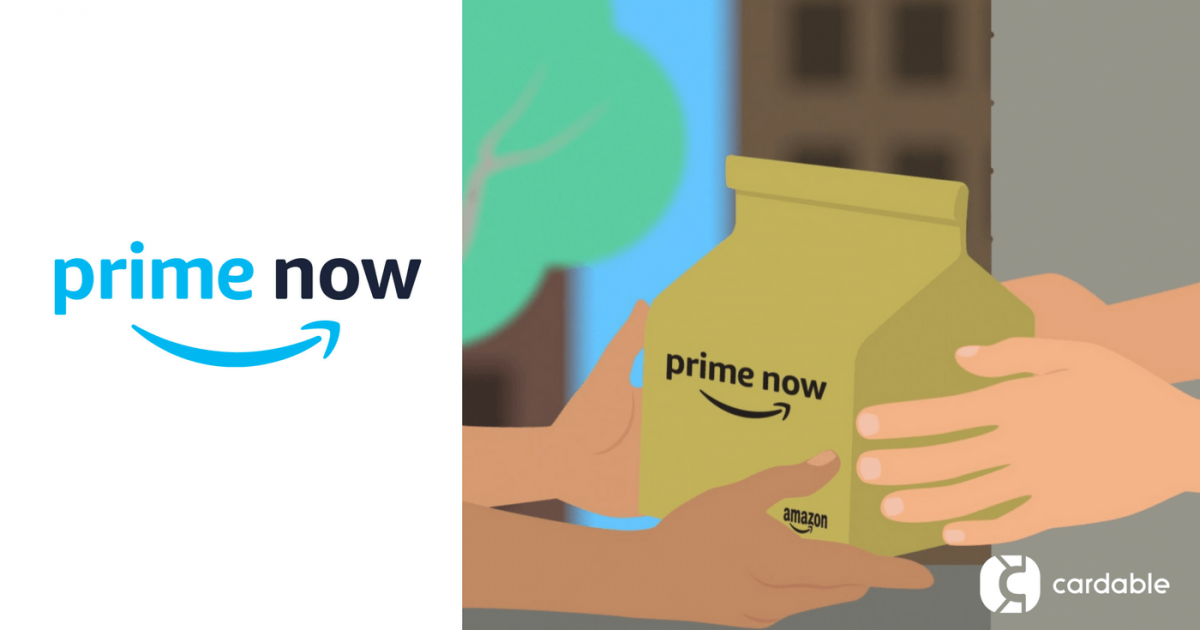 Prime now coupon code