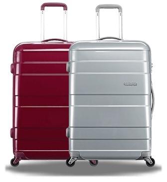 HSBC samsonite 70cm American Tourister Carava TSA Luggage FREE gift