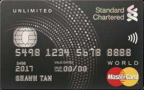 SC Unlimited Cashback Credit Card
