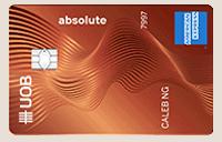 UOB Absolute Credit Card Cashback