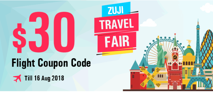 Zuji promo code singapore