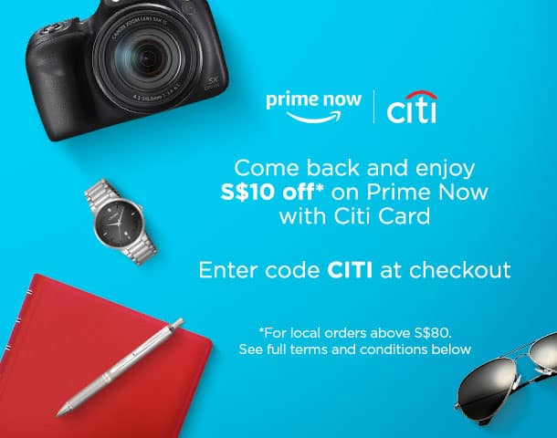 Citibank, Amazon Prime