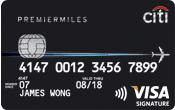 Citi Premier Miles Visa Card