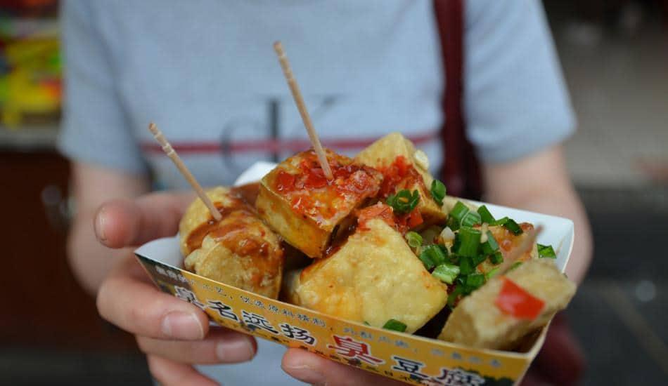 Chou Doufu (Stinky Tofu)