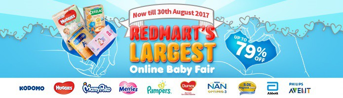RedMart Online Baby Sale August 2017