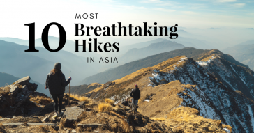 Top Most Breathtaking Trails Asia