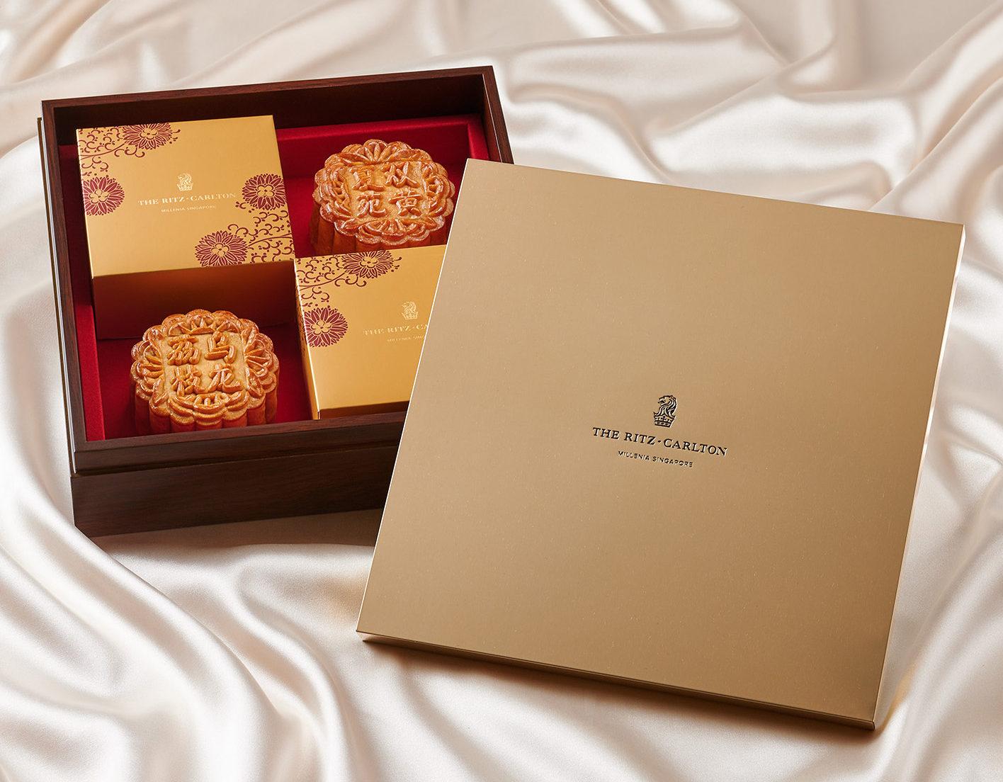 The Ritz-Carlton Millenia Singapore Mooncake Box