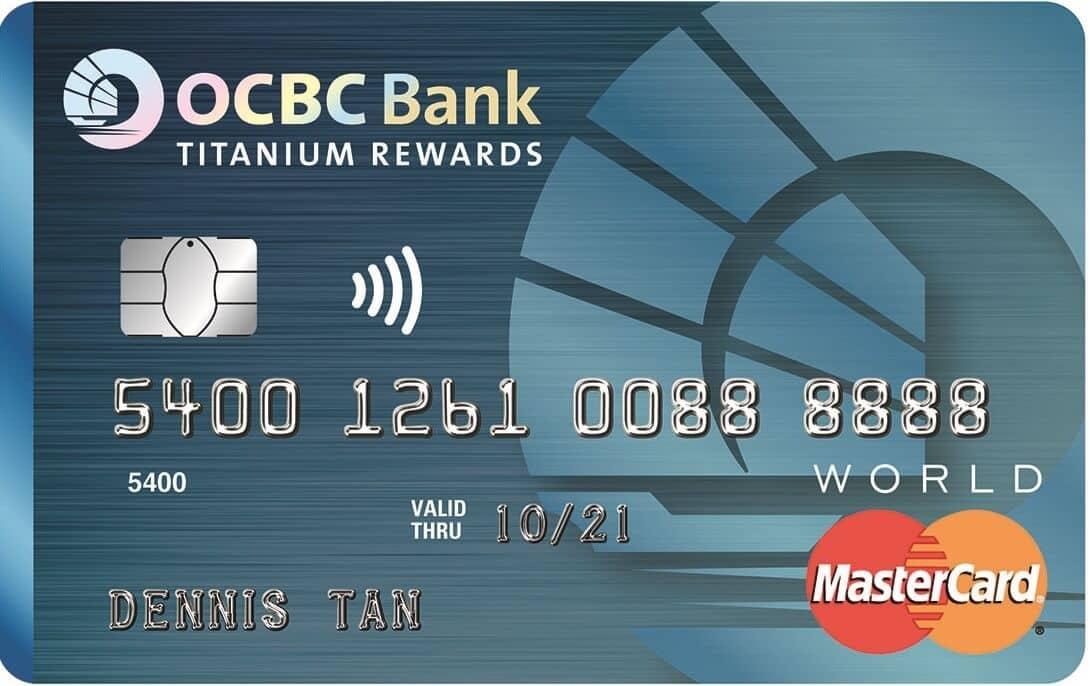 Best OCBC Credit Cards in Singapore, Titanium Rewards Card