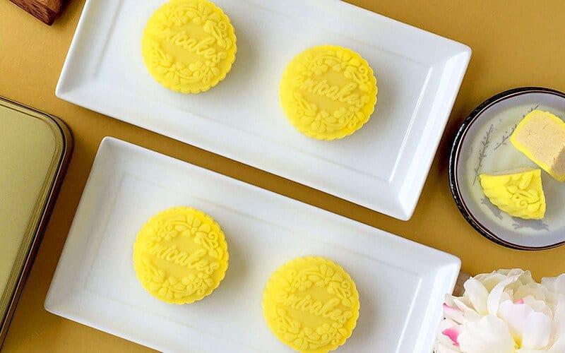 Emicakes Durian Snow-skin mooncake