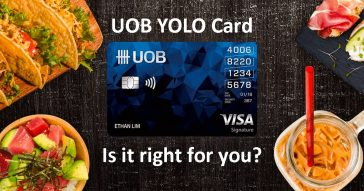 UOB YOLO Card Review 2017