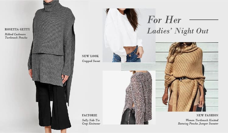 Perfect Sweaters for Every Occasion. Ladies Night Out