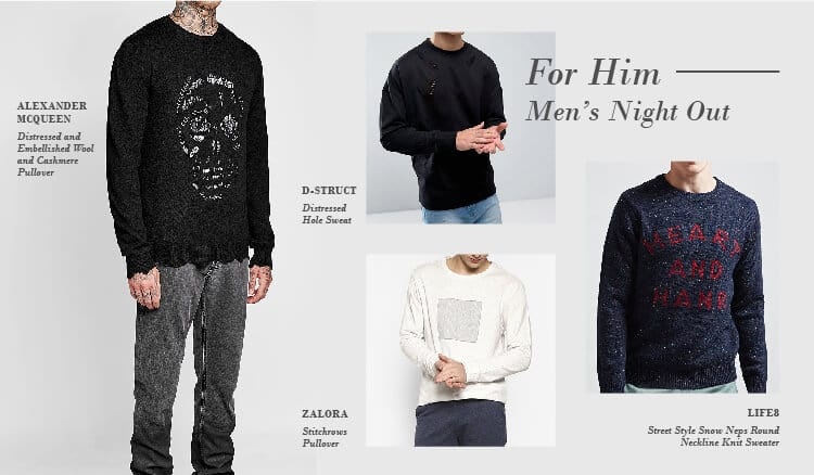 Perfect Sweaters for Every Occasion, Men's night out