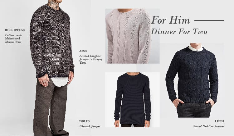 erfect Sweaters for Every Occasion, date night men